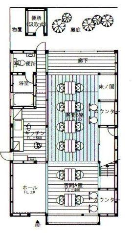 cafe DIG`図面