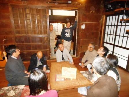 当主の加藤氏から、かっての住宅状況を聞かせていただきました。