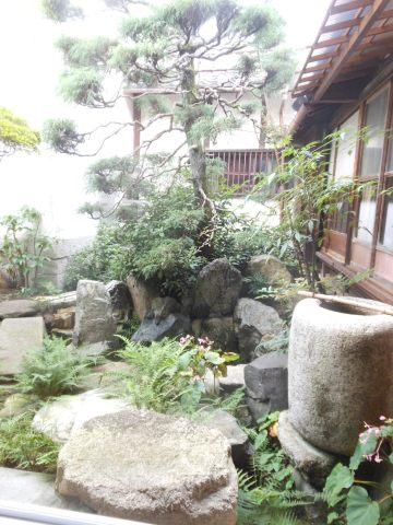 奥座敷の庭