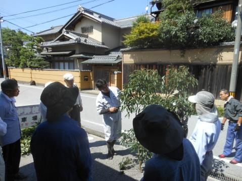 庭師の伊関が講習しました