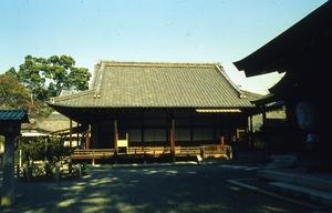 日本庭園学会の現地検討会会場の水無瀬神宮